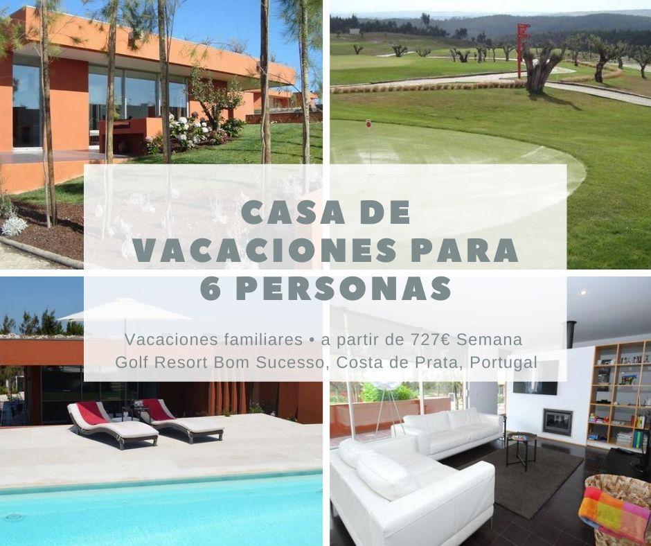 Casa Vacaciones para Golf en Portugal