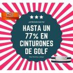 Cinturones de Golf en Liquidación