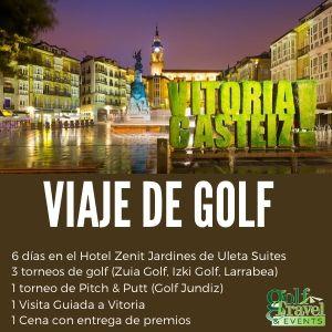 Viaje de Golf a Vitoria