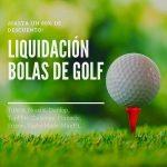 Bolas de Golf en Liquidacion